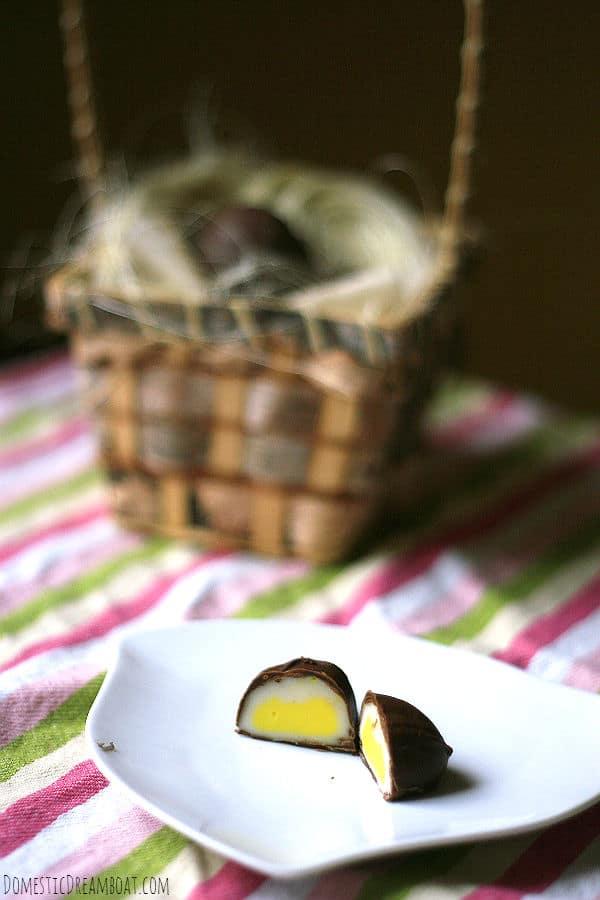 Homemade creme eggs 2