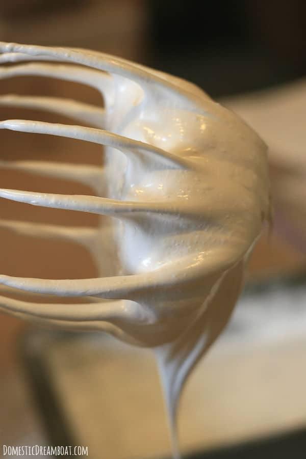Marshmallow whisk