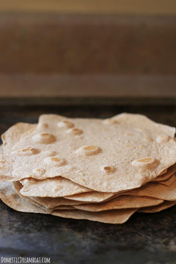 Whole wheat tortillas 2