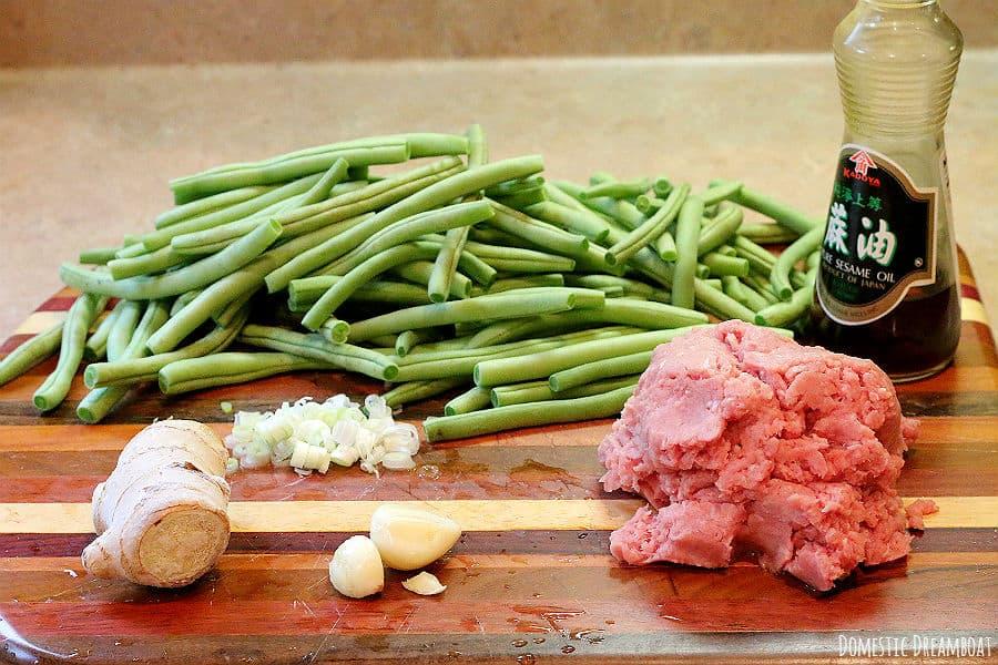 Green bean ingredients