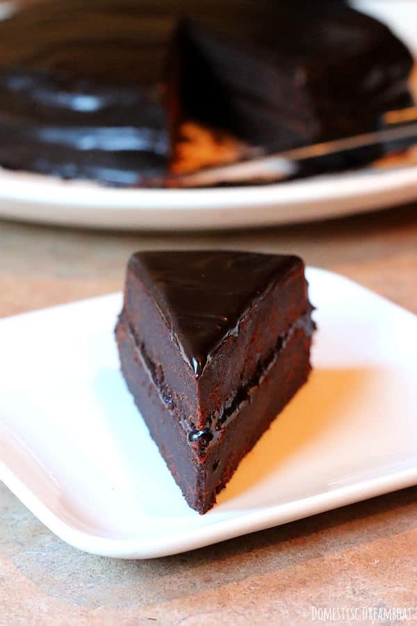 Slice of beet cake 3