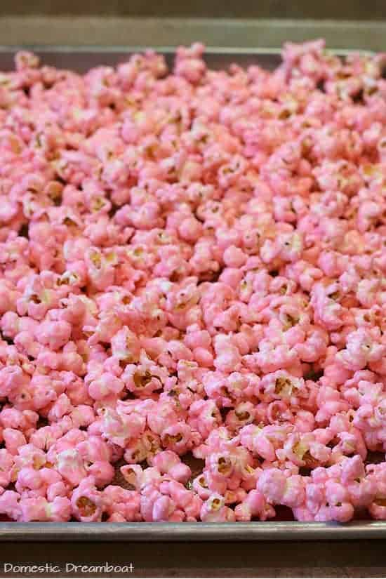 Old Fashioned Pink Popcorn