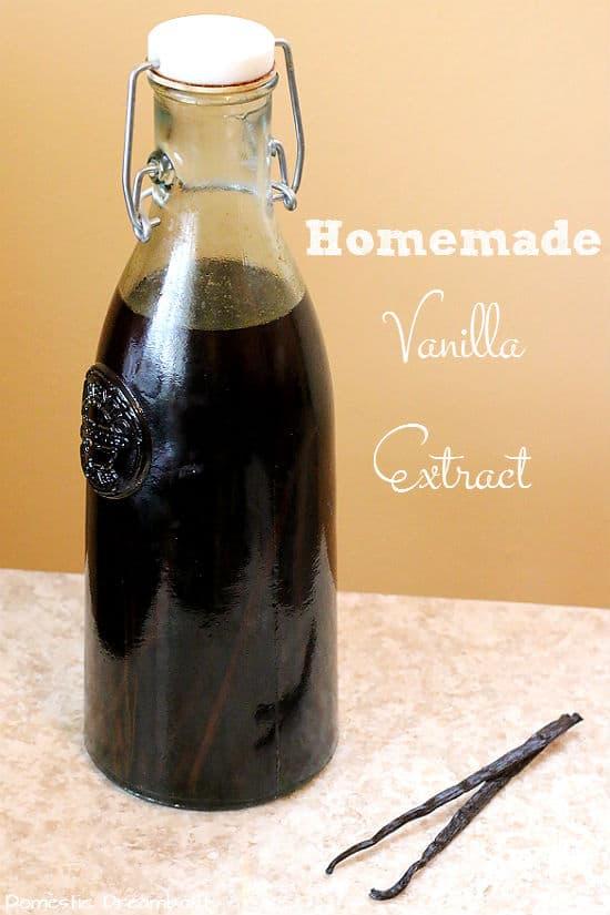 Vanilla Extract with Text