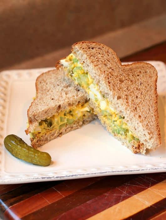 Ultimate Egg Salad Sandwich