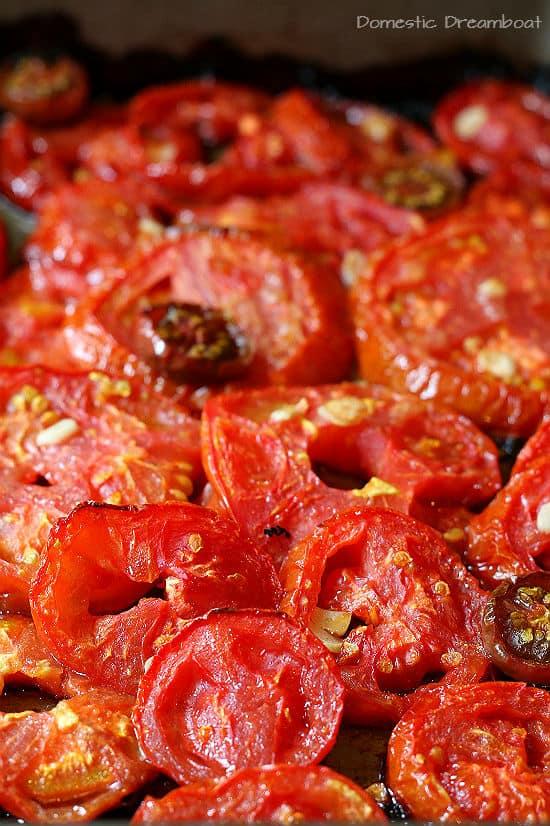 Slow Roasted Tomato Salsa