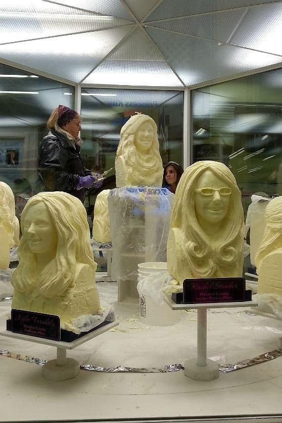 State fair butter busts