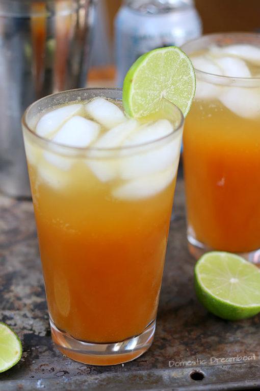 Citrusy Pimm's Cup Cocktails