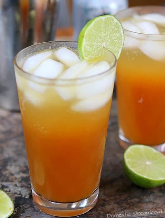 Citrusy Pimm's Cups Cocktails