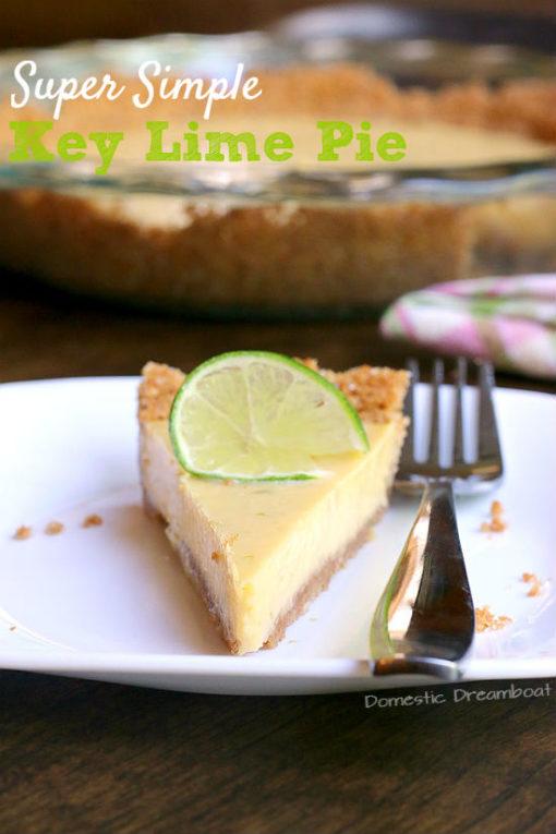 Super Simple Key Lime Pie