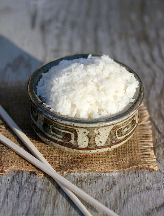Restaurant Style Thai Coconut Rice