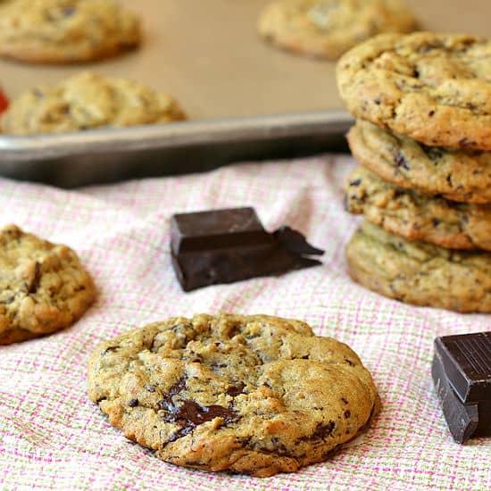Lower Sugar Chocolate Chip Cookies Naturally Sweetened