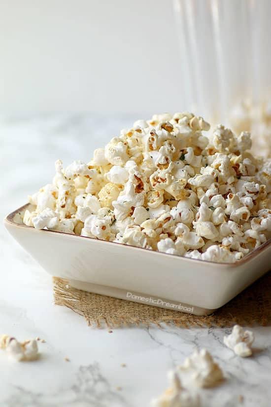 Miso Butter Popcorn