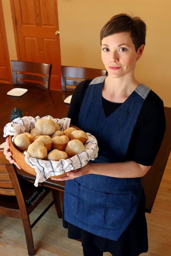 The Apron - An Always Essential Kitchen Accessory #apron #kitchenfashion