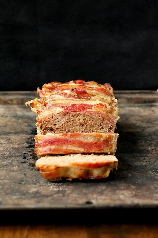 Good Old Fashioned Meatloaf - Domestic Dreamboat #glutenfree #comfortfood